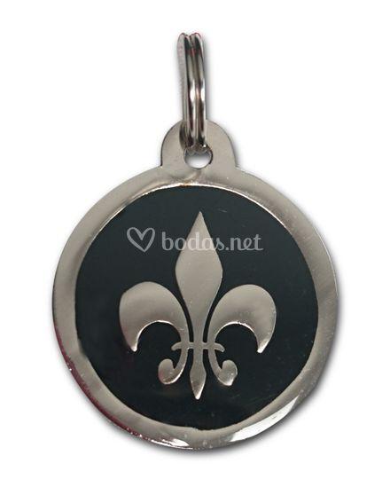 Medalla flor de lis