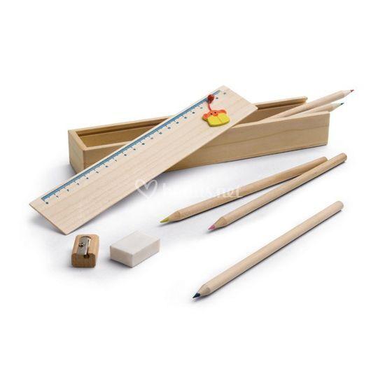 Estuche de madera personalizado