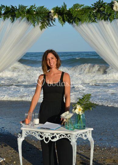 Lucía - maestro de ceremonias