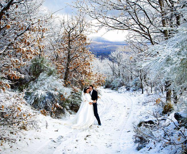 Nieve en sanabria