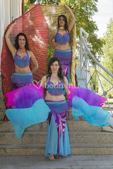 Danza Oriental con elementos