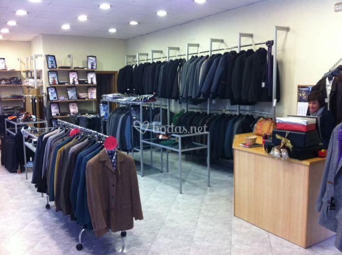 Interior tienda Pontevedra