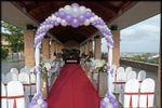 Arco en ceremonia