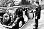 Llegadas con coches de época