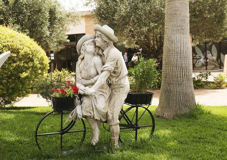 Detalles jardín