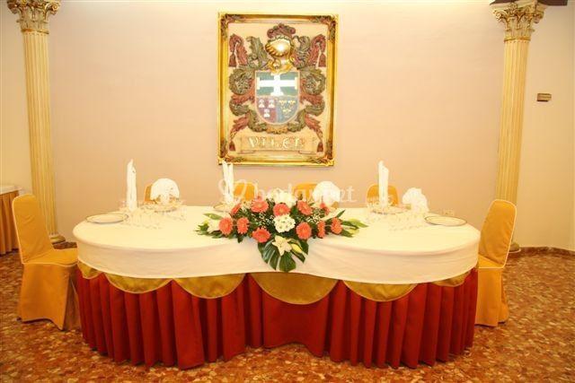 Presidencia salón imperio