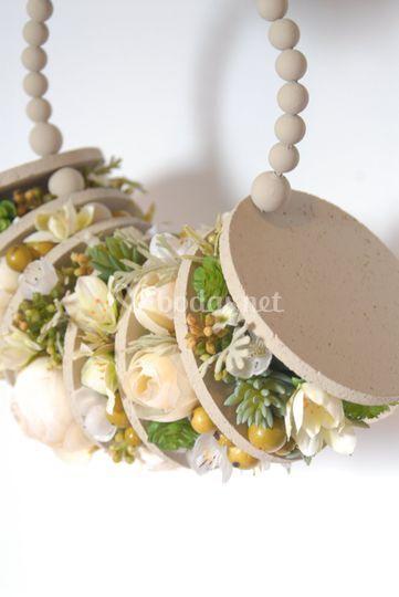 Ramo de novia artificial