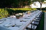 Banquete en la piscina de Finca Montealegre