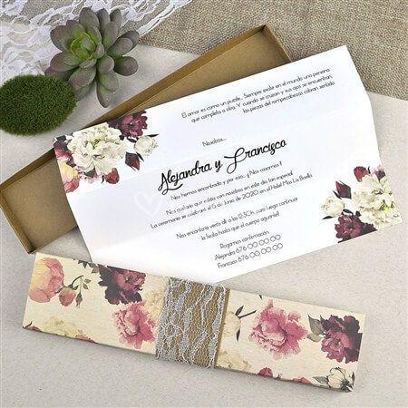 Invitacion floral