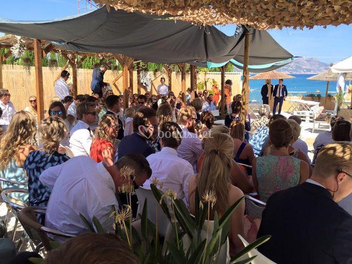 Ceremonias a pie de playa