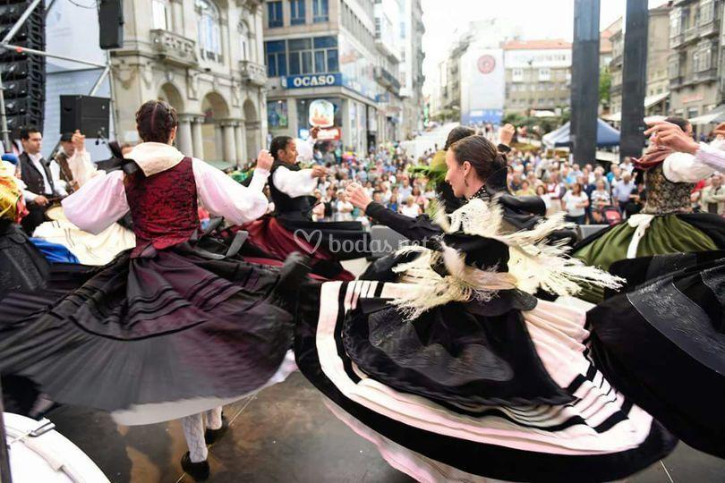 Actuación en centro ciudad