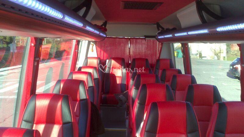 Interior microbús