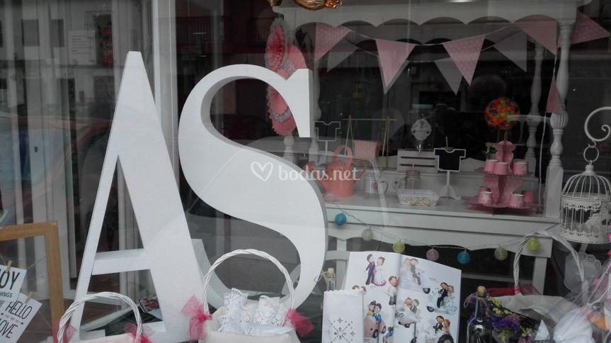 Letras gigantes para bodas