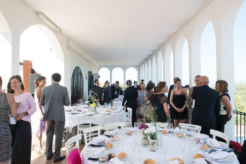 Banquete de boda en Canyelles