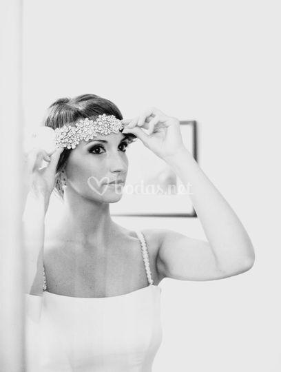 Oihana, maquillaje novia