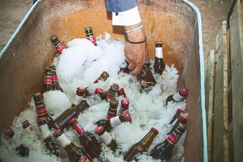 Puestecillo de cervezas