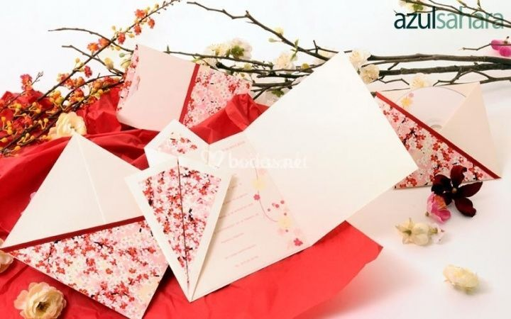 Invitaciones para bodas de primavera