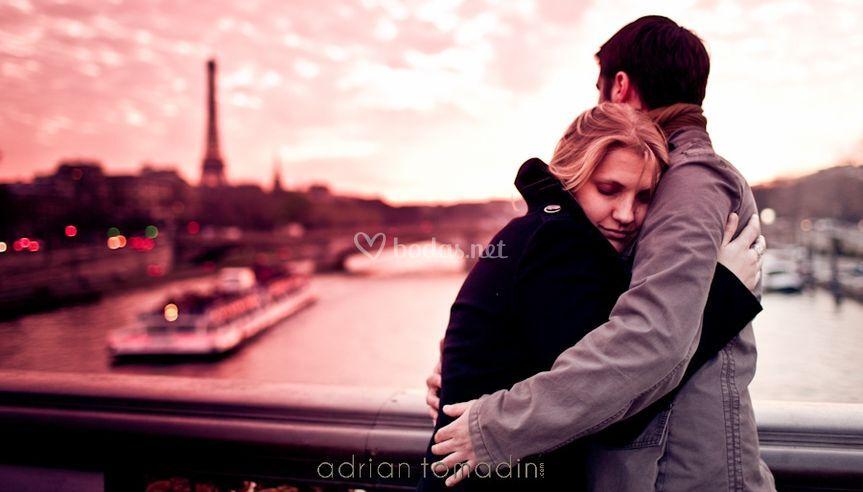 El preboda de Agui y Arturo en París