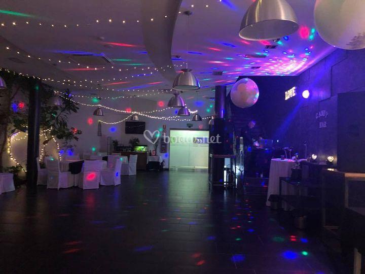 Todo preparado para la fiesta