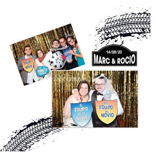 Rocio y Marc