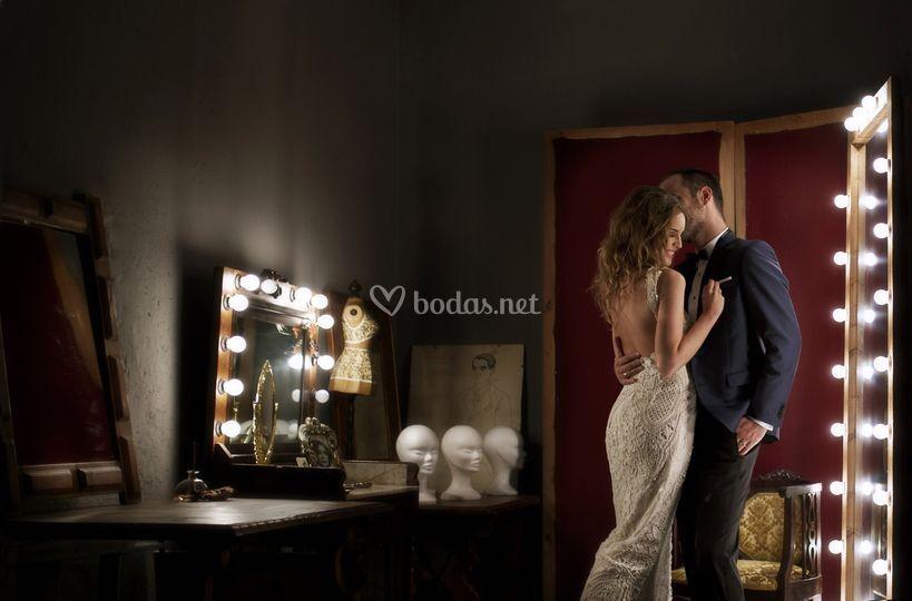 Fotografía artística de boda