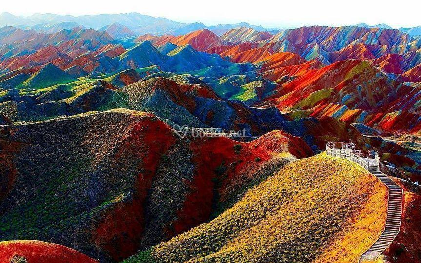Montañas danxia (china)