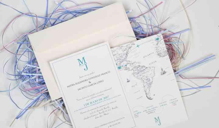 Invitaciones Mayra y Jacinto
