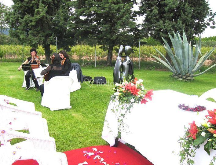 Jardín ceremonia