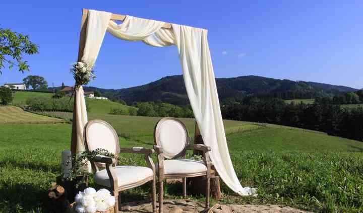 Ceremonia sillon blanco