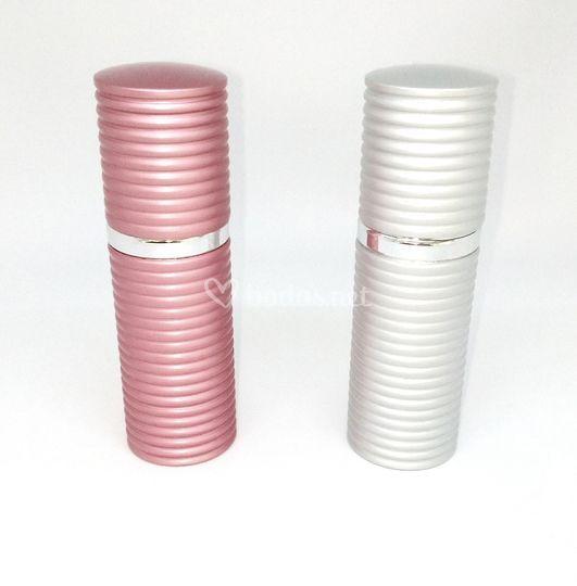Perfumador rosa/plata