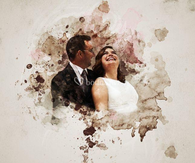 Retrato post-boda