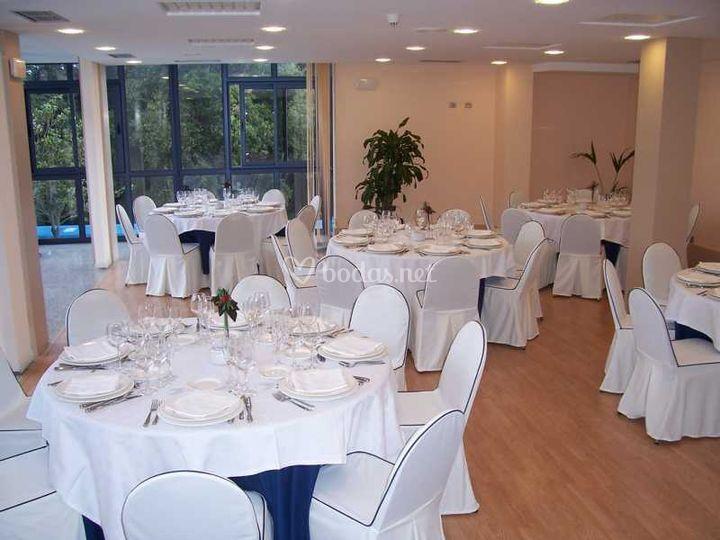 Salón privado para 50 personas