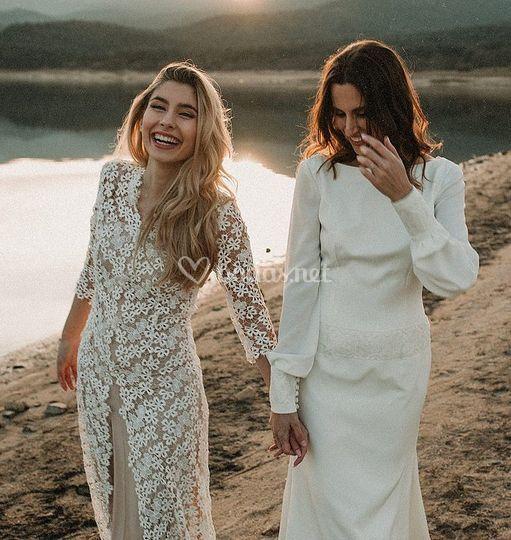 Sandra y Elena / Foto: Victor