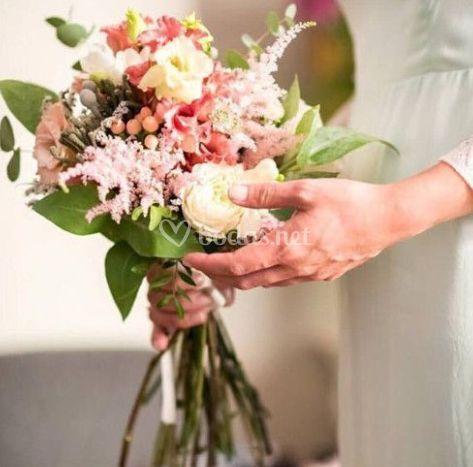 Ramo de novia fresco