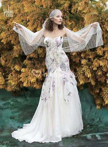 vestidos de novia para bodas de primavera