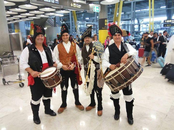 Actuación en el aeropuerto