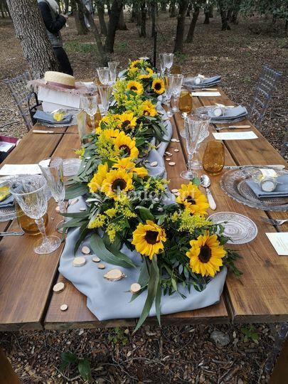 Flores de la mesa