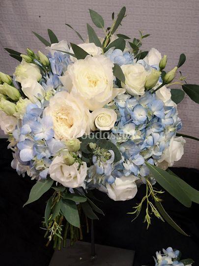 Bouquet de rosas inglesas