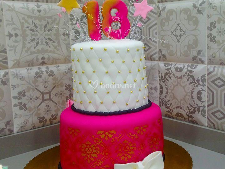 Tarta para cumpleaños