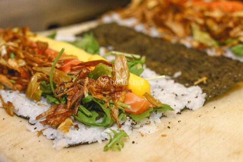 Sushi Event en bodas