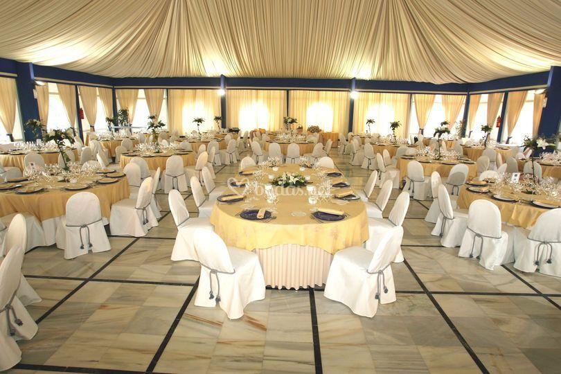 Banquete Nupcial Carpa Interior
