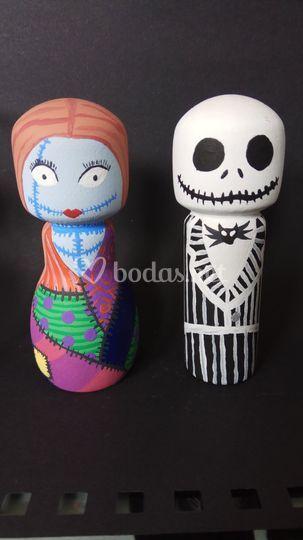 Novios Jack & Sally