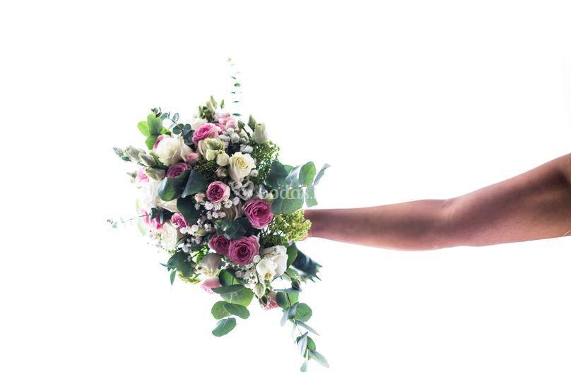 Slow wedding photo