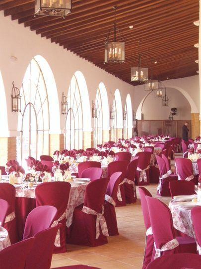 Sala con luz exterior