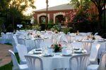 Banquete en los jardines de La Reunida