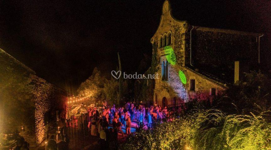 Fiesta e iluminación