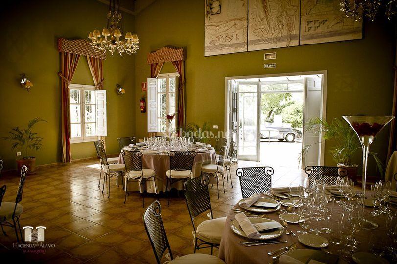 Salones con encanto de Hacienda del Álamo | Foto 15