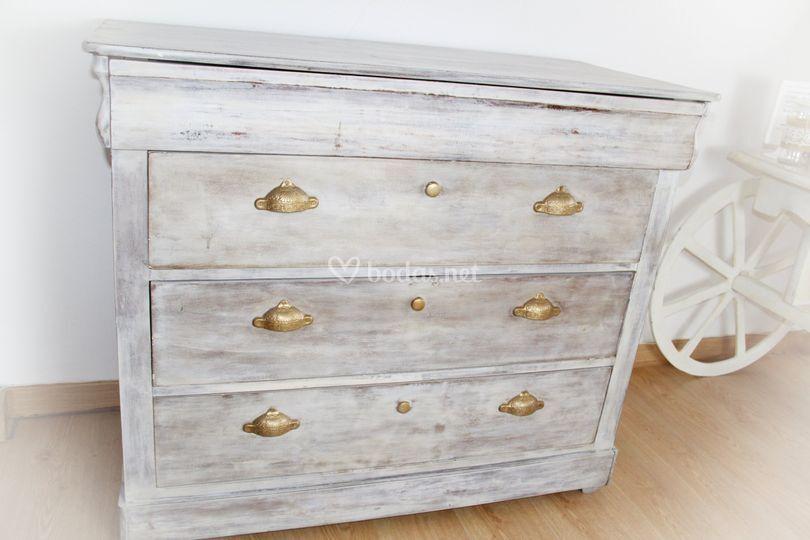 Mueble antiguo vintage