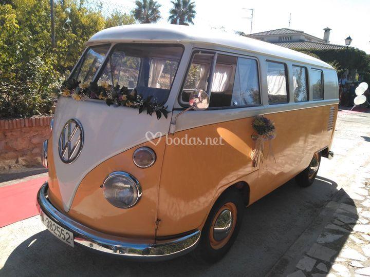 Boda en Volkswagen T1