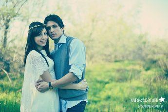 Fotos de boda con aire vintage